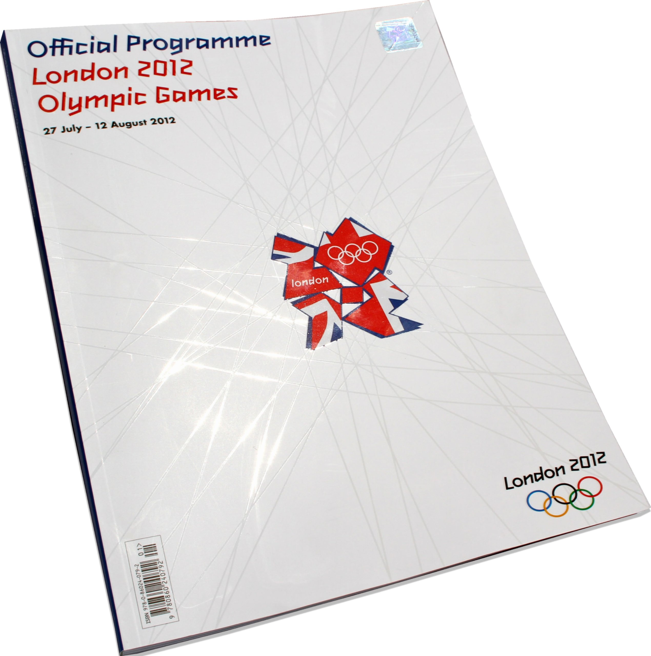 Front cover of the 2012 Olympic Programme