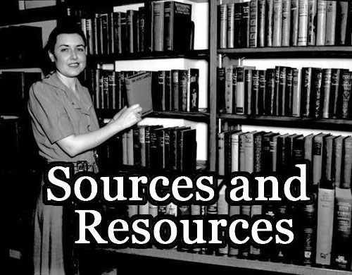 Sources and Resources