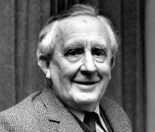 Portrait of JRR Tolkien